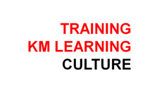 Training KM Learning Culture